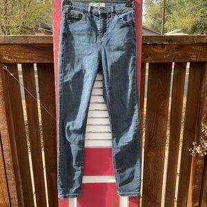 """TopShop Moto Jamie Stretch Skinny Jeans 24"""" waist."""
